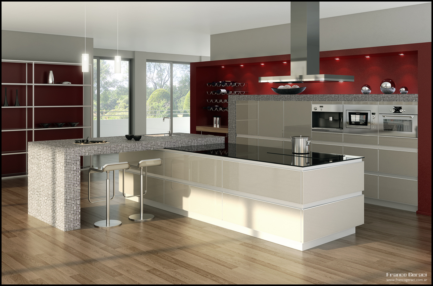 3d Kitchen 2 By Feg On Deviantart