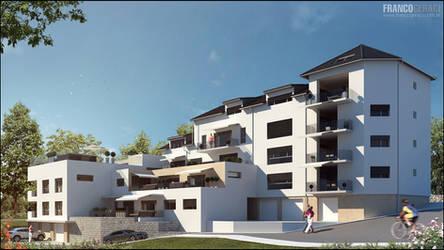 3D Exterior Building part 1/6
