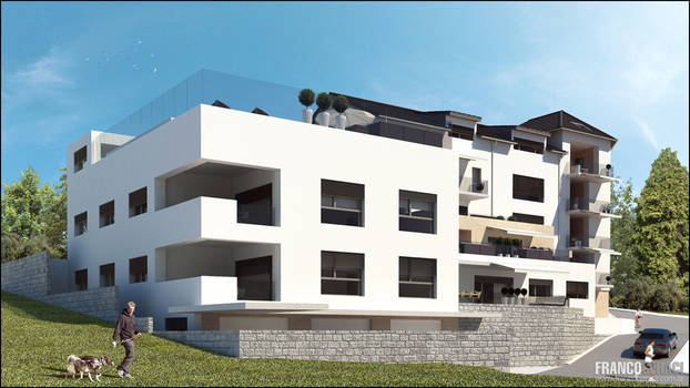 3D Exterior Building part 2/6