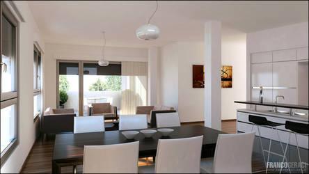 3D Dining Room 04