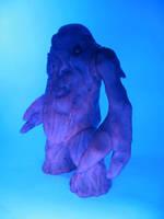 Purple Zombie with UV light by Deviantguu