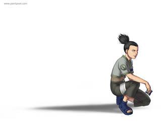Shikamaru by paintpixel
