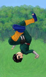 Rock Lee 2 by paintpixel