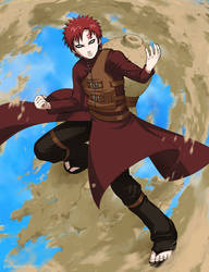 Gaara by paintpixel