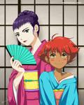Kimono Bebop by paintpixel