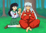 InuYasha, Kagome, and ?