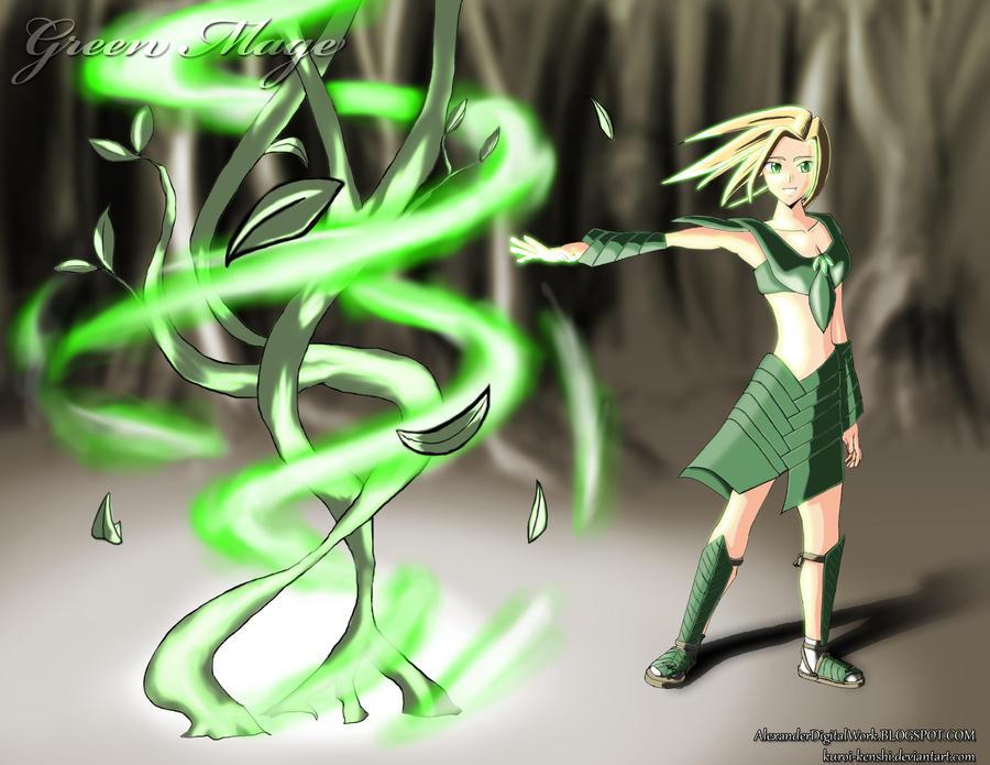Green Mage Green Mage Kai ...