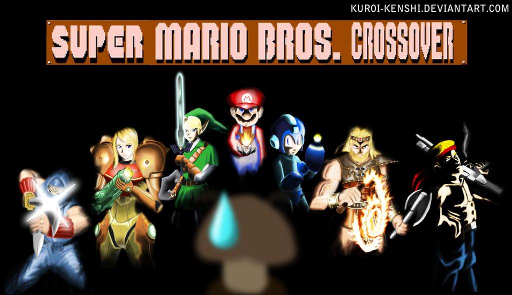 Super Mario Bros Crossover by kuroi-kenshi