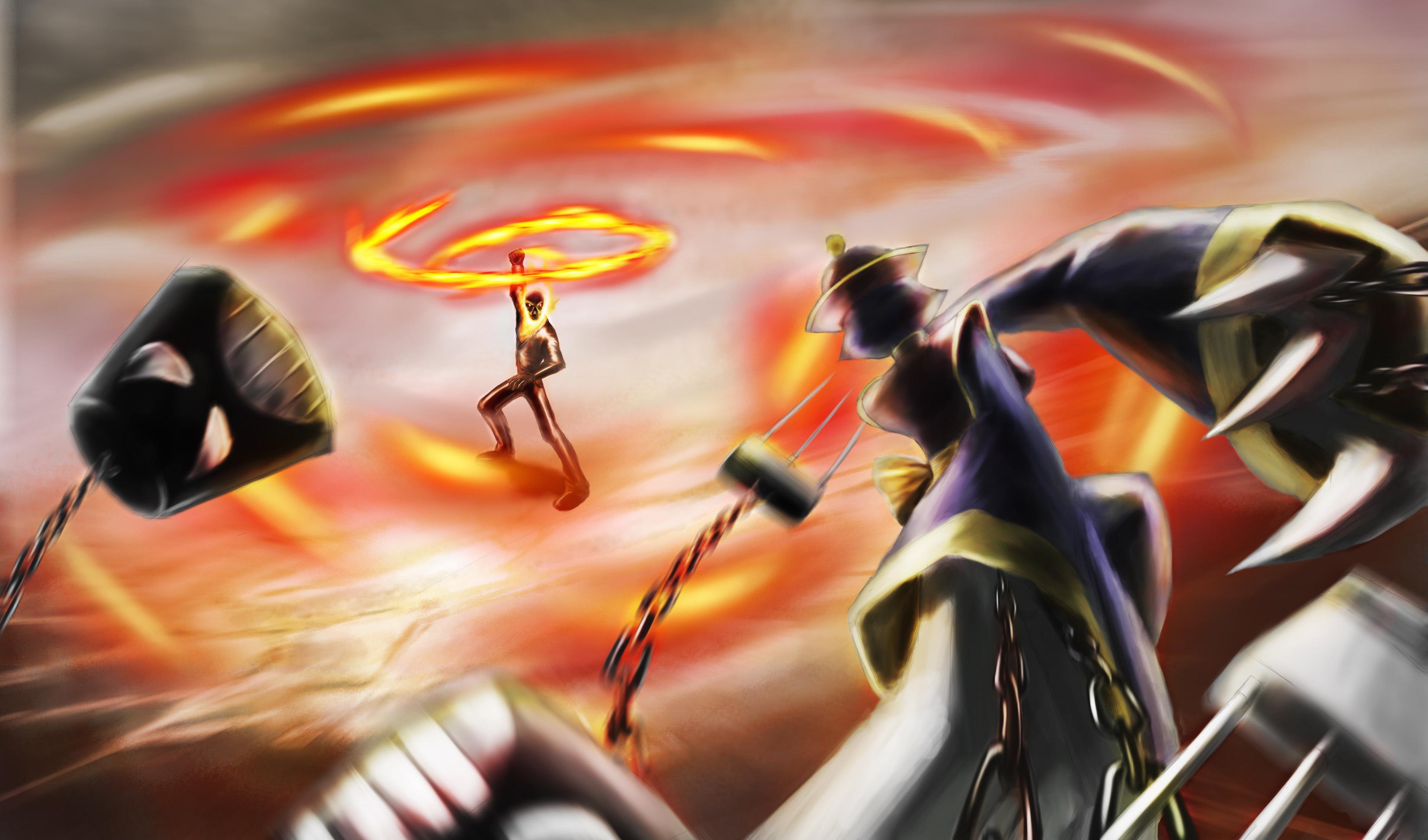 taokaka vs ghost rider - photo #23