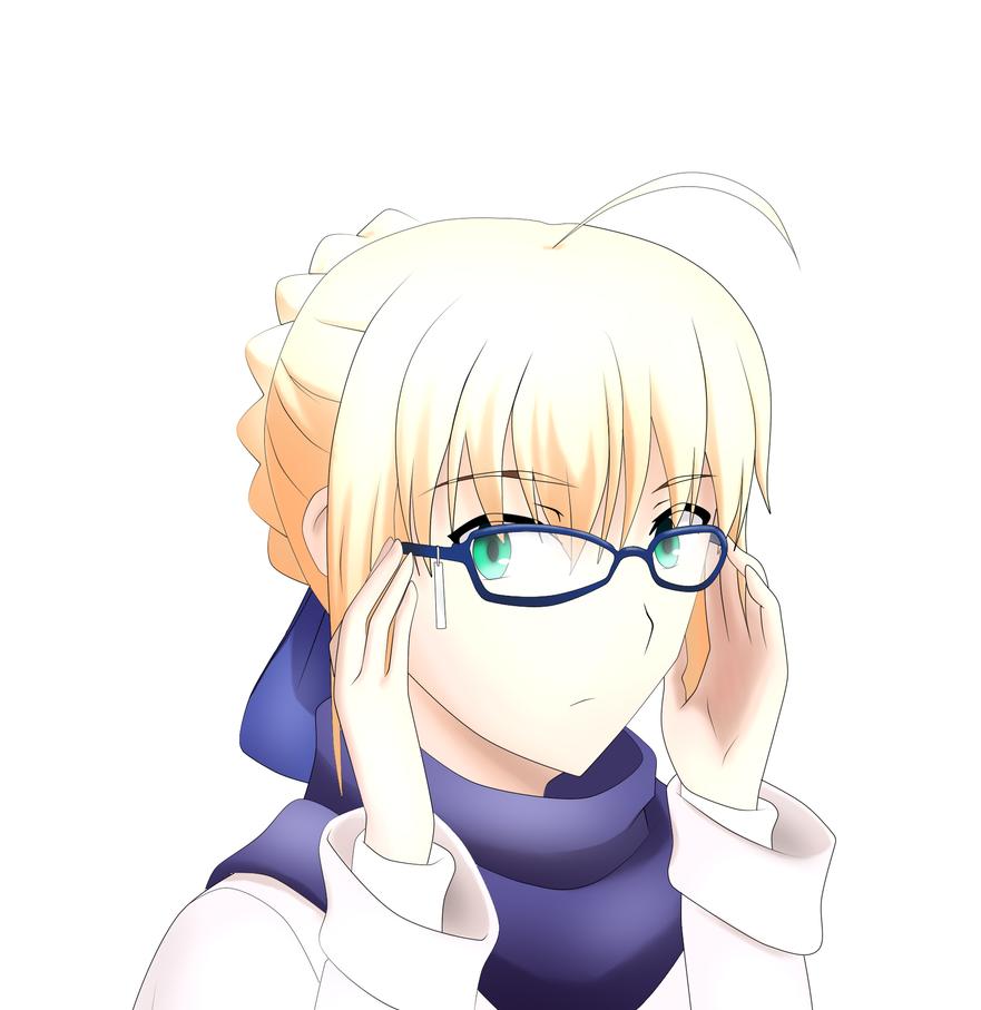 Saber Glasses by kuroi-kenshi
