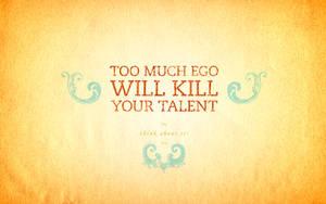 ego kill talent Wallpaper by sturdy