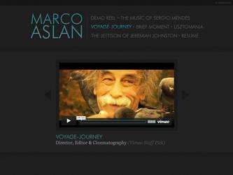 Marco Aslan Portfolio by sturdy