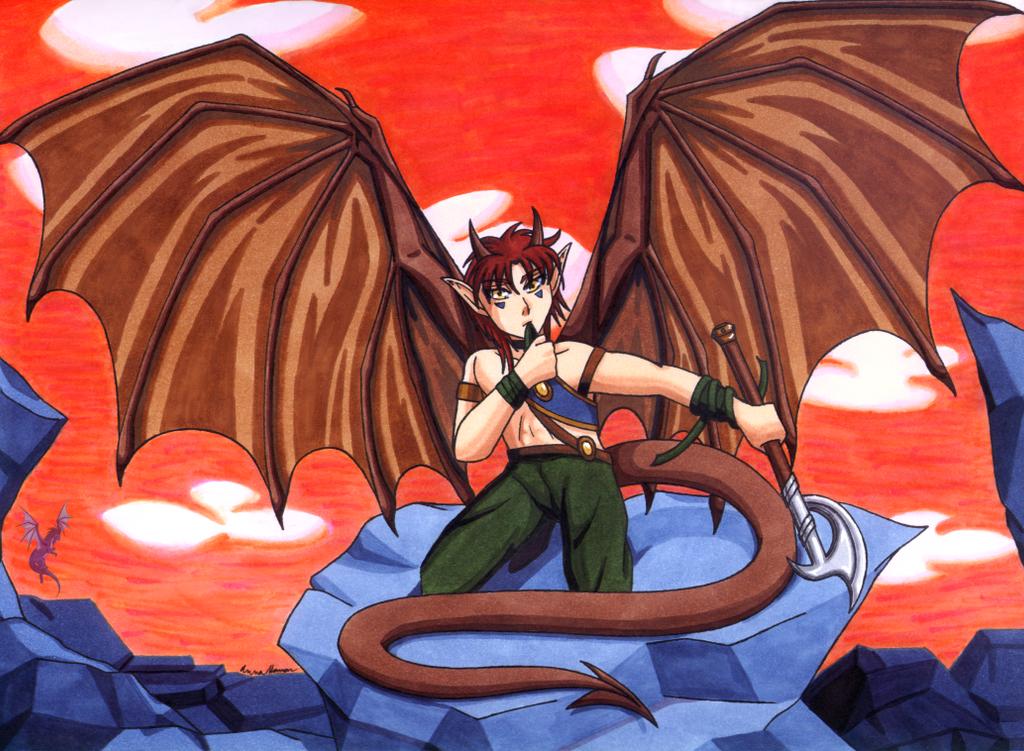 Humanoid anime dragon boy lockindo - Anime boy dragon ...