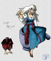Baba Yaga by aoi-ryu