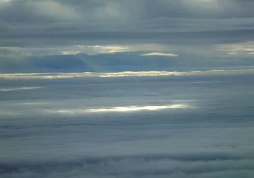 Between fluffy clouds :D