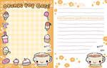 Orange Pop Cafe - Stationary