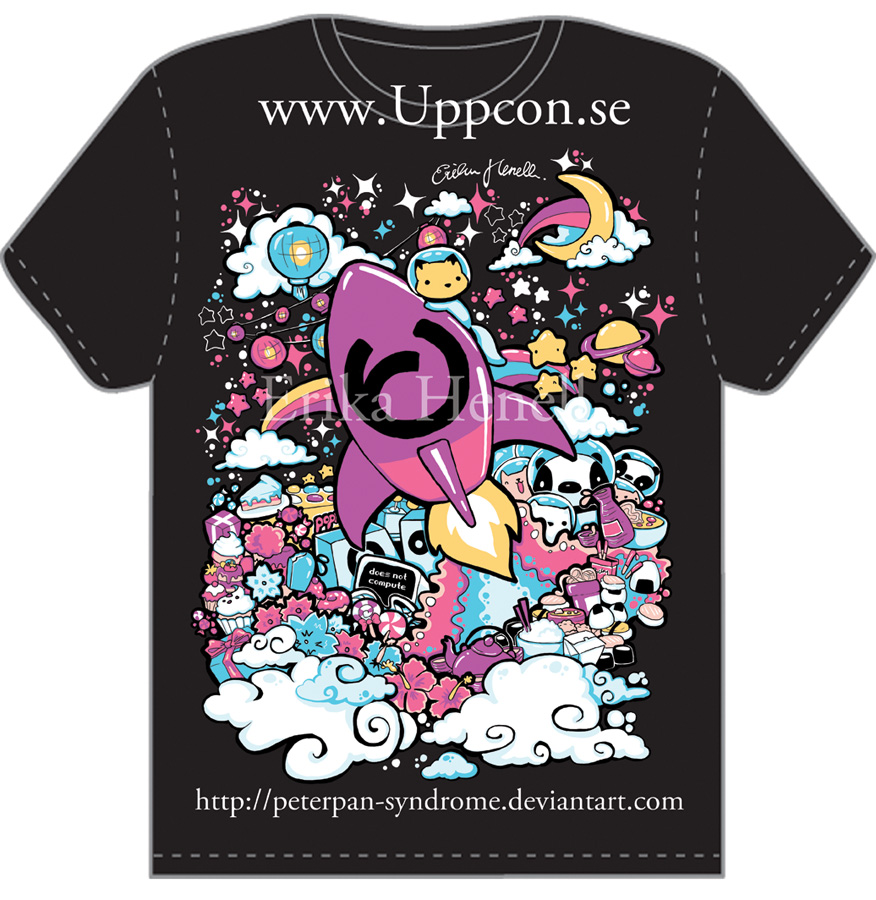 Design t shirts graphic - Uppcon 10 T Shirt Design By Peterpan Syndrome