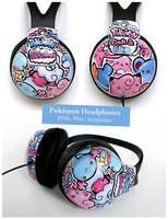 Pokemon Headphones by PeterPan-Syndrome