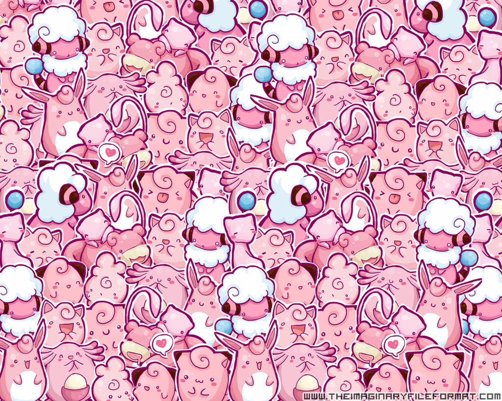 Pink Pokemon Wallpaper by PeterPan-Syndrome on DeviantArt