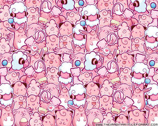 Pink Pokemon Wallpaper