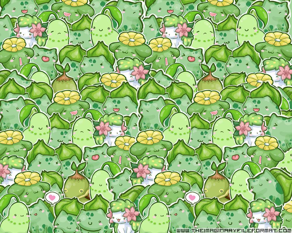 Grass Starter Pokemon Wallpaper Grass Pokemon Wallpaper by