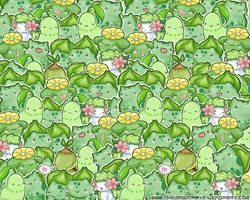 Grass Pokemon Wallpaper by PeterPan-Syndrome