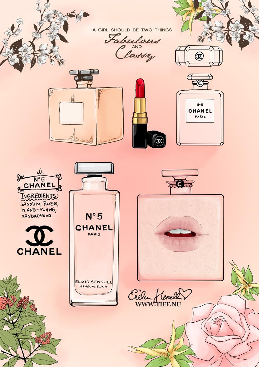 Chanel No 5 Eau de Cologne Chanel perfume - a
