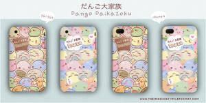Dango Daikazoku iPhone by PeterPan-Syndrome