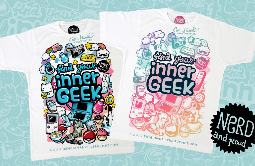 Nerd and proud - tee by PeterPan-Syndrome