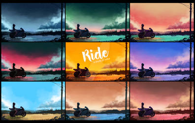 Ride - A Study In Color