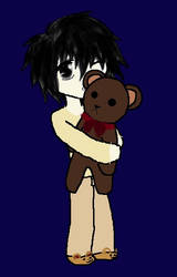 L and Teddy by Demontown