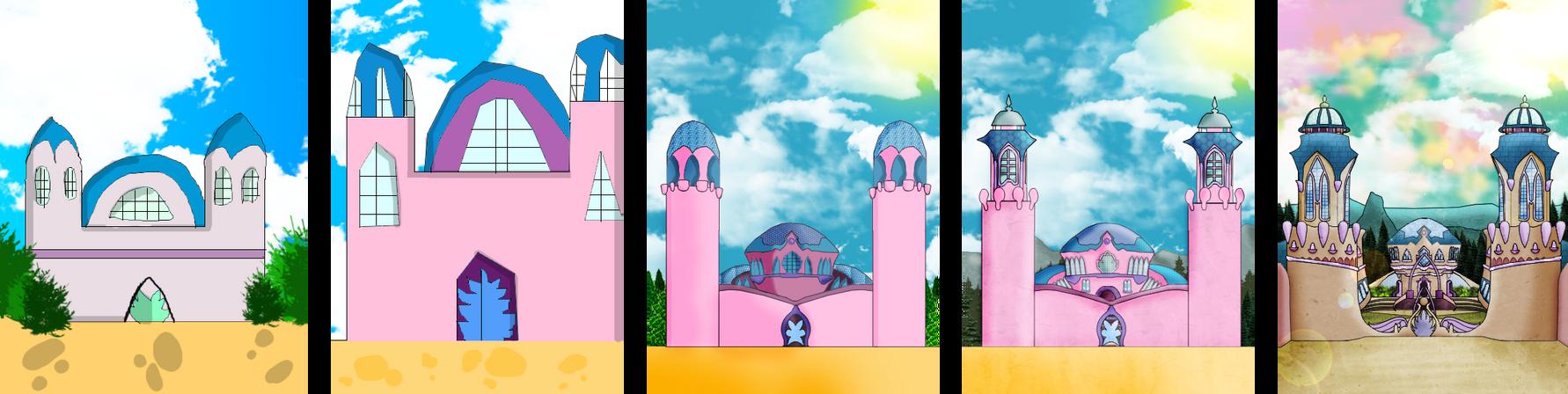 Trix Life : Evolution of Alfea Castle !
