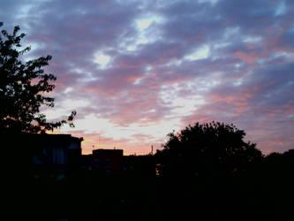 Summer Sunset in Sweden by Rowena-Silver