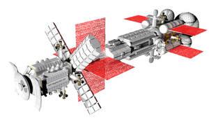 Sort of realistic space battlecruiser 3