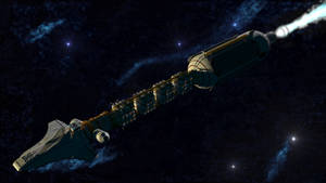 Sort of realistic space transport ship - Redone 5
