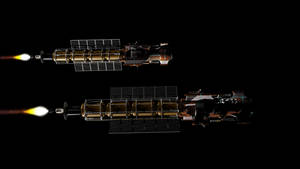 Orbital patrol ship - Martin 3