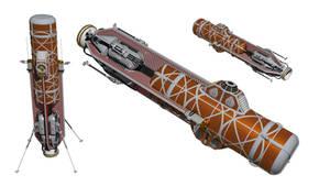 Jovian Space Car Vignette - Lander Variant