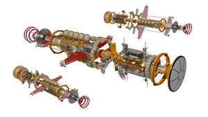 Jovian command ship - Shelly (+a short animation)
