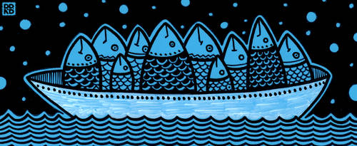 Fish Boat by RohelineBear
