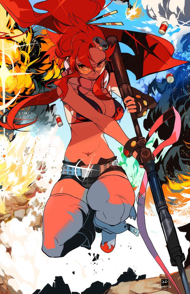 Gunner Yoko by OverlordJC