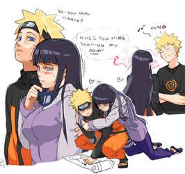 Naruto X Hinata by OverlordJC