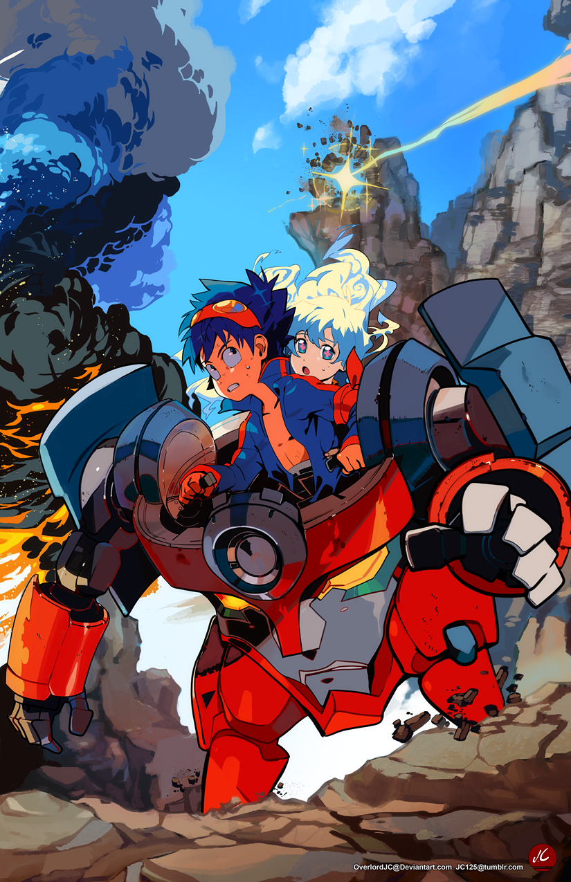Commission Work: Rider Simon and Nia by OverlordJC on ...