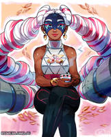 Twintelle by OverlordJC