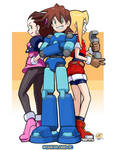 Megaman Legends Crew by OverlordJC