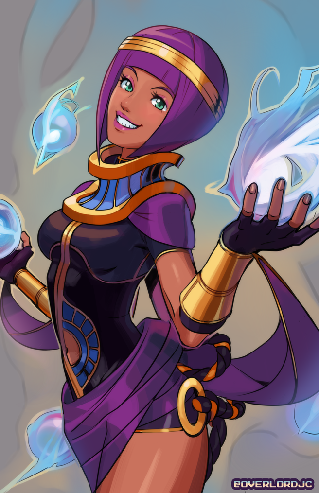 Menat by OverlordJC