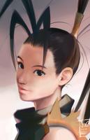 Ibuki portrait by OverlordJC