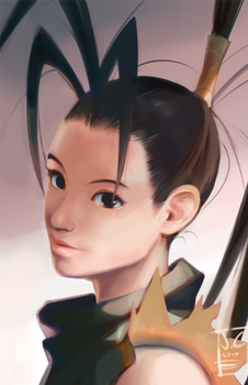 Ibuki portrait