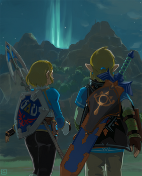Daily Illustration: BotW2
