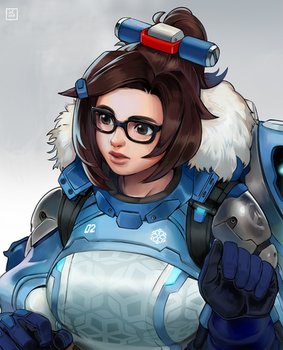 Daily Illustration: Mei OW2