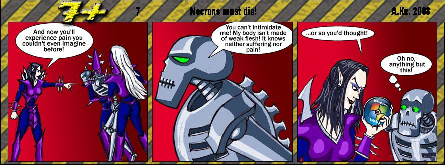 Funny 40K 7plus_N7___Necroms_must_die___by_AKB8
